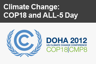 Climate Change: COP18 and ALL-5 Day