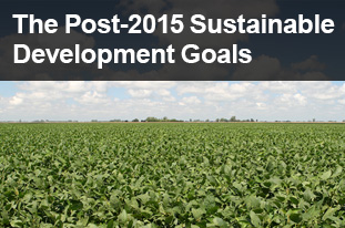 The Post-2015 Sustainable Development Goals