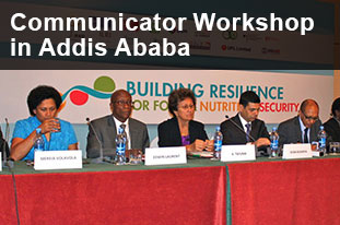 Communicator Workshop in Addis Ababa