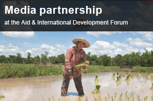 Media partnership at the Aid & International Development Forum, Indonesia