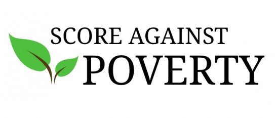 Score Against Poverty Logo